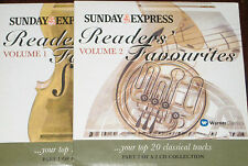 Readers' Favourites Volumes 1 & 2 - Classical Music (2 x CDs), Sunday Express.