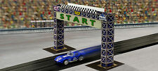 1:64 Scale Slot Car HO Photo Real Start Gantry Model Diorama Scenery Miniature3