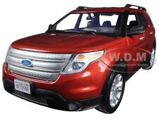 2015 FORD EXPLORER XLT RED 1/18 DIECAST MODEL BY MOTORMAX 73186