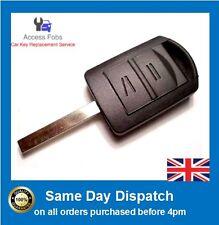 NEW Corsa C, Combo, Meriva, Tigra Complete Key Remote 433mhz HU100 Blade