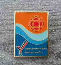 CBC (Canada) - 1994 Commonwealth Games (Victoria BC) - Official Broadcaster Pin