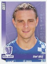 N°176 STEF WILS # BELGIQUE KAA.GENT STICKER PANINI FOOTBALL 2011