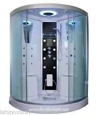 Big 2 Person Steam Shower Room.Thermostatic & Bluetooth Audio.6 Year US Warranty