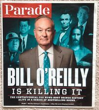 Parade Magazine September 6 2015 Bill O'Reilly Is Killing It + Stephen Colbert