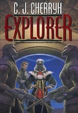 Foreigner # 6:  EXPLORER,  by  C. J. Cherryh ( 2002,1st, Printing, Hardcover)