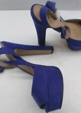 Ladies Size 7 Lipstick Shoes Lucinda, Colour: Pur Micro. 78244-1 Purple Tall