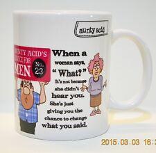 AUNTY ACID COLLECTIBLE MUG - WHAT?!
