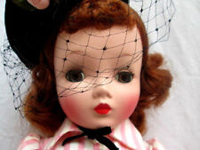 "VINTAGE 1950's..MADAME ALEXANDER..20"" CISSY DOLL..TAGGED DRESS"