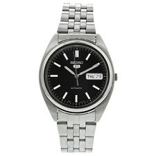 Seiko 5 Automatic Dress Black Dial Mens Watch SNXA13