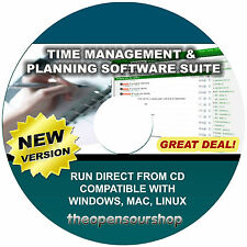 Pro Time Management Collection Suite CD - Note Taking Software & Task Manager