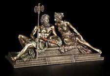 Dèi personaggio-Zeus con Hera veronese STATUA PERSONAGGIO DA COLLEZIONE REGALO bronziert