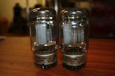 PAIR ( QTY 2 ) 6336A RAYTHEON VINTAGE TUBES - SUPERB MATCHED & SAME BATCH