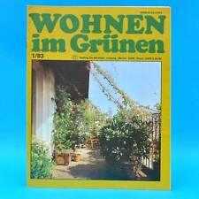 DDR Wohnen im Grünen 1/1983 Verlag für die Frau X Imker Leipzig Rankgerüste Pilz