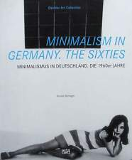 LIVRE NEUF : MINIMALISM EN ALLEMAGNE - années 60 (germany,the sixties,1960s,60s