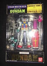 Bandai Yellow RX78 (RX-78) Gundam Version 1 Action Figure MSIA Lot
