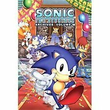 Sonic The Hedgehog Archives 18-ExLibrary