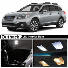 14x 2015-2017 Subaru Outback White Interior LED Lights Package Kit + TOOL