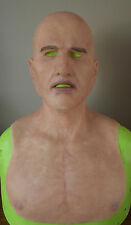 MADE TO ORDER REALISTIC SILICONE YOUNG MAN/MODEL MASK WITH PUNCHED EYEBROWS