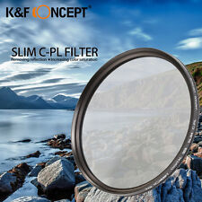 K&F 58mm Super Slim CPL Circular Polarizer Polarizing Filter for Canon Rebel T5i