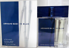 ARMAND BASI IN BLUE 3.4 OZ AFTER SHAVE LOTION SPRAY FOR MEN VERY RARE FIND
