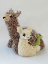 Alpaca and Baby Tea Cosy Knitting Pattern to knit your own