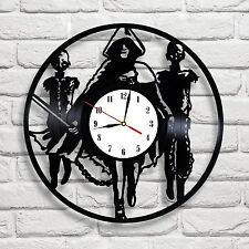 Walking Dead 5 design vinyl record wall clock home decor art club shop bedroom