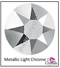 METALLIC LIGHT CHROME 144 pieces 7ss 2mm Swarovski Crystal Flatback Rhinestones