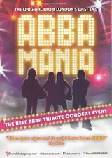 ABBA MANIA TRIBUTE SHOW UK TOUR 2017 PROMO FLYER BUY 2 GET 1 FREE