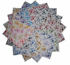 "85 4""  Whisper Calicoes Quilting Fabric Squares/ Georgeous/NEW ITEM!!"