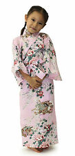 Japanese Kimono Robe Girl's Dress Princess #YC868 Cotton Unlined