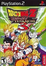 Dragon Ball Z: Budokai Tenkaichi 3 Playstation 2 Video Games-Good Condition