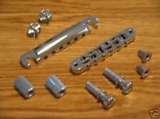 Gibson Chrome Nashville Tune O Matic Aluminum Bridge & Stop Bar w/ Mts