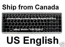 Lenovo ideapad P500 Z500 Keyboard - T6F1-US 25206237 PK130SY1F00 NSK-BF4SC US