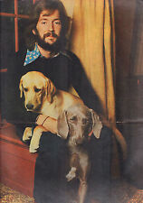 ERIC CLAPTON - POSTER FROM DUTCH MUSIC MAGAZINE MUZIEK EXPRES 1970