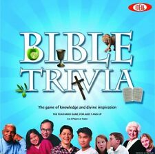 Ideal Bible Trivia Game, New, Free Shipping
