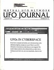 MUFON UFO Journal February 1995 #322 Cyberspace Alien Abduction Allergies