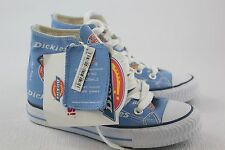 Dickies, Blue High Top Shoes, Dickies Logo Blue Mens Size 5