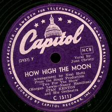 STAN KENTON & HIS ORCH. How high the moon -mit Scat-Gesang- / Interlude   X2019