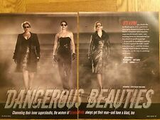 A.J. Cook, Paget Brewster, Kirsten Vangness 14pg WATCH feature, clippings