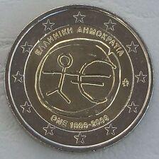 """2 Euro Griechenland 2009 """"10 Jahre WWU"""" unz"""