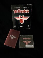 Return To Castle Wolfenstein PC CD Rom Game Complete NEW IN BOX!!