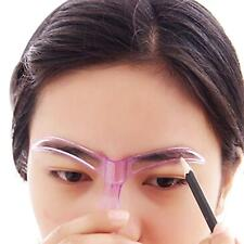 Practical Women Makeup Cosmetic Grooming Drawing Blacken Eyebrow Template Tool