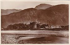 Old Inverlochy Castle & Ben Nevis, FORT WILLIAM, Inverness-shire RP