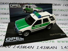 voiture 1/43 IXO eagle moss OPEL collection n°83 : FRONTERA B Polizei 99/2003