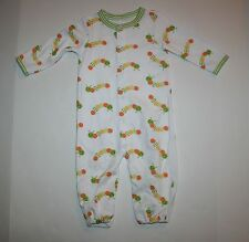 New Gymboree Convertable Gown PJs Happy Catapillar Size 0-3m NWT Brand New Baby