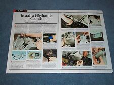 How To Tech Info Article on Installing a Hydraulic Clutch in a Vintage Mustang