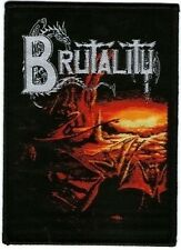 BRUTALITY - Patch Aufnäher - When the sky turns black 8x10cm