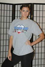 2010 NCAA Women's College Cup Soccer T Shirt - Champion - Gray - Men's Large