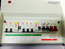 Wylex 7 Way 17th Edition Dual RCD High Integrity Consumer Unit + 5 MCBs + 2 RCBO
