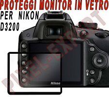 PROTEZIONE DISPLAY X FOTOCAMERA NIKON D3200 COPRI MONITOR PROTEGGI SCHERMO GGS